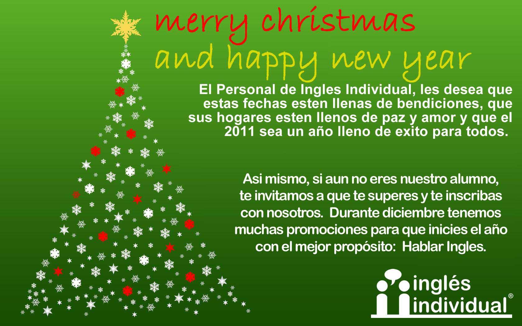 Mensaje De Navidad Corto En Ingles